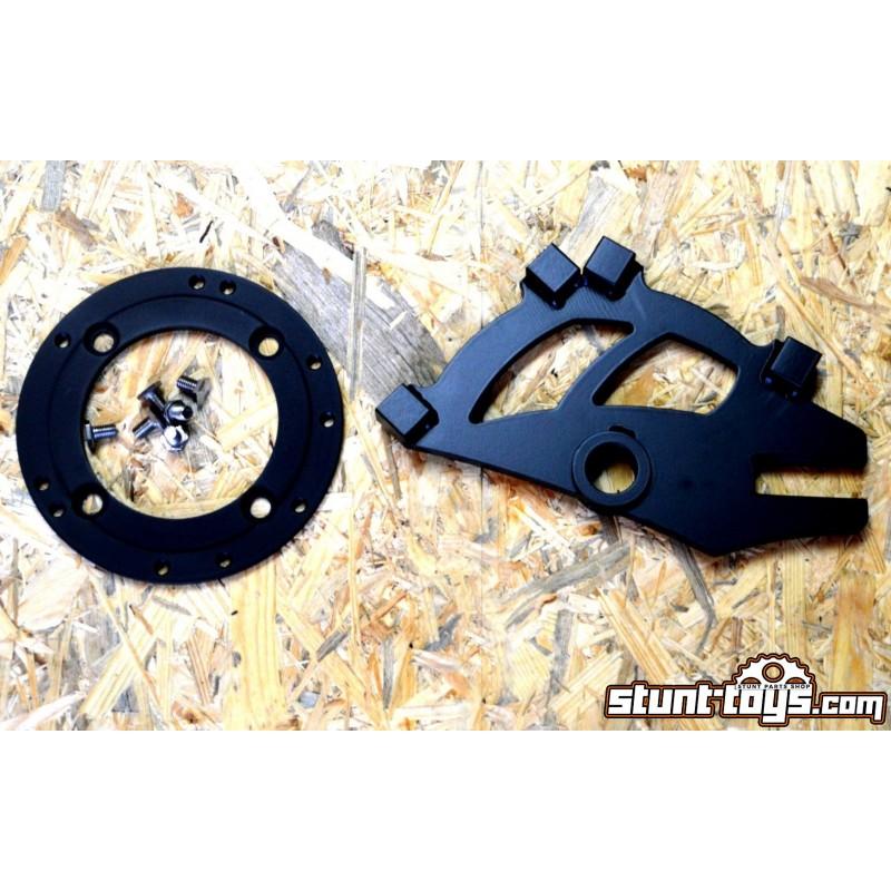 Mocowanie stalowe HB 2x Radial do Kawasaki 636 03-04