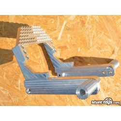 12bar ALU with pegs CNC for Harley Davidson Sportster