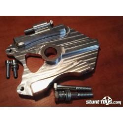 Mocowanie HB 2x Radial + 1x oryginalny nożny 220mm GSX-R K4-K5